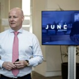 Arkivfoto: Tonny Thierry Andersen, der er bankdirektør og ansvarlig for Danske Bank Wealth Management fortæller om Danske Banks nye investeringsløsning June.