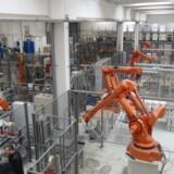 Robotter i industriel produktion er på indtog i Danmark. F.eks. hos virksomheden Trelleborg), der producerer tæthedsløsninger til industrielt brug, hvor man de senste år har investeret i robotter.  Arkivfoto: Jens Nørgaard larsen