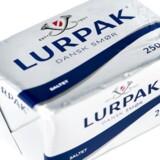 I Danmark kan der i den kommende tid blive mangel på smør i supermarkederne. Arkivfoto.