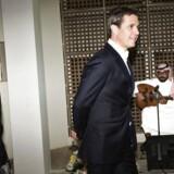 Kronprinseparret i Riyad, Saudi-Arabien, i anledning af Danmarks handelsfremstød.