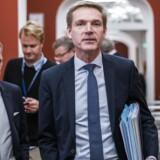 Kristian Thulesen Dahl og Rene Christensen (DF) Forhandlingerne i Statsministeriet fredag d. 8. december 2017. (Foto:Martin Sylvest/Scanpix 2017)
