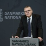 Lars Rohde ved Nationalbankens pressemøde om dansk økonomi onsdag den 14 marts 2018.