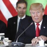 Nordkoreanerne opfører sig på en meget, meget dårligt måde, og der må gøres noget, siger USA's leder. EPA/Szilard Koszticsak HUNGARY OUT