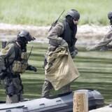 Arkivfoto. Elitesoldater deltog i politiaktion mod Mesa Hodzic. Foto: Keld Navntoft