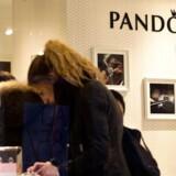 ARKIVFOTO af Pandora på Strøget. (Foto: Nils Meilvang/Scanpix 2015)