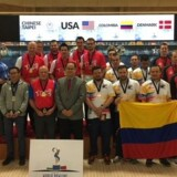 De danske bowlingherrer rejser hjem fra Las Vegas med en VM-bronzemedalje. Free/Danmarks Bowling Forbund