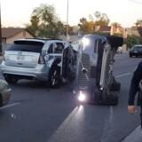 Havareret selvkørende Volvo fra Uber-tjenesten i Arizona