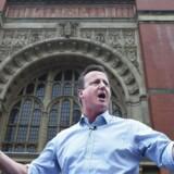 Den britiske premierminister, David Cameron.