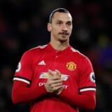 Zlatan Ibrahimovic er igen udeladt af Manchester Uniteds trup. Scanpix/Andrew Couldridge/arkiv