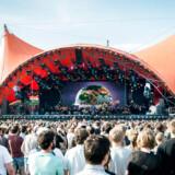 Roskildefestival 2016 The Orchestra of Syrian Musicians, Damon Albarn med guests ved åbningen på Orange Scene onsdag 29. juni.