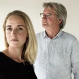 Allan Levann sammen med Nikoline Valentin Andersen, Novo Nordisk, der er udvalgt til at være med i tænketanken for unge talenter. (Foto: Malene Anthony Nielsen)