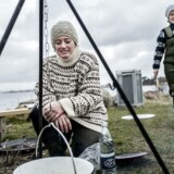 Liselotte Kira Gregers Andersen og Anita Dietz Lykkegaard (bagest) står bag den ny bog »Tang - et hav af mad«.