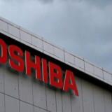 Arkivfoto. Aktierne i Toshiba styrtdykker efter det japanske konglomerat tirsdag overraskende udskød fremlæggelsen af sit årsregnskab.