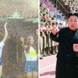 Musikken fra det sydkoreanske pigeband GFriend er blandt de numre, Sydkorea sender ind over grænsen til Nordkorea. Sidste år fik propagandaudsendelser med musik Nordkorea til at true med militære angreb.