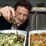 Arktivfoto fra Jamie Olivers tv-serie: 'Jamie's Madministerie' i Sydney - siden da har han lukket filialerne af Jamie's Italian. Det har nu spredt sig til Europa. EPA/PAUL MILLER AUSTRALIA AND NEW ZEALAND OUT