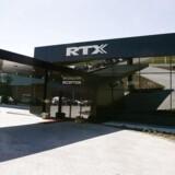 RTX-Telecoms bygning i Nørresundby. (Foto: HENNING BAGGER/SCANPIX NORDFOTO 2002)