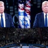 I en tale hos den store amerikansk-jødiske lobbyorganisation Aipac langer Trump ud efter palæstinenserne og siger, at han klart vil være på israelernes side i eventuelle forhandlinger.
