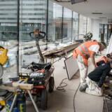 Byggeriet buldrer frem, men bygge-branchen glemmer at omstille sig i tide. Arkivfoto: Asger Ladefoged