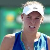 Caroline Wozniacki slog Katerina Siniakova 6-3, 6-1. Trods de overbevisende sætcifre følte danskeren, at tjekken kunne vende kampen. (Arkivfoto). Scanpix/Matthew Stockman