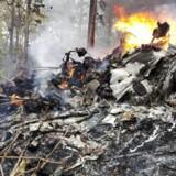 Et privat fly med 10 passager og to besætningsmedlemmer styrtede ned søndag. Alle 12 personer mistede livet. EPA/Ministry of Public Security