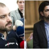 Nikolaj Villumsen (TV) og René Gade (TH)