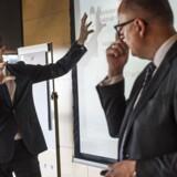 NKT-opslitning. Tilstede ved pressemødet vil være NKT Holdings bestyrelsesformand Jens Due Olsen og NKT Cables President & CEO Michael Hedegaard Lyng.