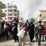 Russisk udspil lægger op til, at det påståede kemiske angreb i Douma i Syrien skal efterforskes i FN-regi.