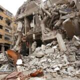 Ødelæggelserne i Syrien er enorme.