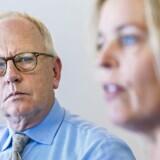 De nye ejere i TDC valgte på generalforsamlingen d. 14.05.18 den nye formand Mike Parton (tv.). Samtidig går Pernille Erenbjerg (th.) som topchef.