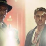 Morgan Freeman og Brad Pitt i David Finchers »Seven«. Foto: PR