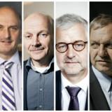 Fra venstre: Lene Skole, Michael Nielsen, Niels Zibrandtsen, Allan Søegaard Larsen, Lars Thuesen og Benedikte Utzon.