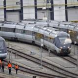 Trods valg af langsommere tog har S og SF ikke opgivet drømmen om rejsetider på en time mellem de store byer. Foto: CLAUS FISKER/Scanpix 2012