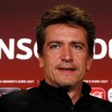 Nils Nielsen til pressemøde i Holland forud for søndagens finalebrag ved EM.