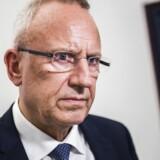 Fra møde i Finansministeriet om Helhedsplanen d. 27. oktober 2016. På daværende tidspunkt var Jørn Neergaard Larsen beskæftigelsesminister. (Foto: Ólafur Steinar Gestsson/Scanpix 2016)