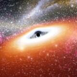 Et ungt sort hul lavet med Spitzer Space Telescope. Foto: AFP NASA/JPL Caltech