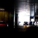 Parkeringshus. Arkivfoto.