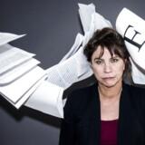 """Forfatteren Susanne Staun er aktuel med bogen """"Fuck, en lækker røv"""", der handler om vores hjælpeløse forhold til sproget på skrift."""