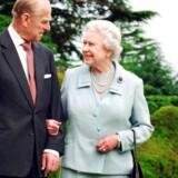Den engelske Dronning Elizabeth II og hendes mand Prins Philip, Hertugen af Edinburgh. Prins Philip, som er 95 år, vil fra efteråret ikke længere deltage i offentlige begivenheder, oplyser det engelske kongehus, i dag den 4. maj, 2017.