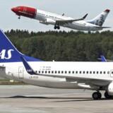 Det blev offentliggjort tirsdag flyselskabet Norwegian nu er større end SAS målt på passagerer.