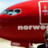 Arkivfoto: Bjorn Kjos, CEO for Norwegian Group.
