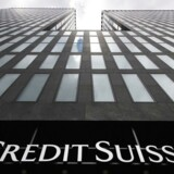 Credit Suisse, Zurich . / AFP PHOTO / Fabrice COFFRINI
