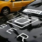 Kørselstjenesten Uber har tænkt sig at blive i Danmark.