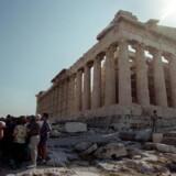 Parthenon-templet på Akropolis i Athen. Arkivfoto: Scanpix