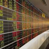 Arkivfoto. Der er stigende kurser på de asiatiske aktiemarkeder uden for Japan mandag, hvor mange af de mindre markeder får glæde af en svækkelse af dollar og faldende amerikanske renter.