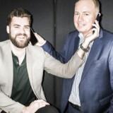 Morten Strunge (til venstre) og Peter Mægbæk har succes med deres fælles mobilselskab Plenti, som allerede har rundet 35.000 kunder i Danmark. Arkivfoto: Asger Ladefoged, Scanpix
