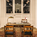 Charlottenborg viser en udstilling om De Forenede Kongeriger Elgaland-Vargaland. Sådan ser det ud, når man søger om pas til landet, man ikke sådan lige kan rejse til. Udover i drømme. Pressefoto