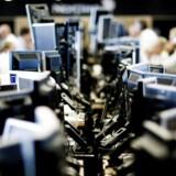 Arkivfoto. Åbningen på det danske aktiemarked onsdag blev som ventet - flad med Novo og storbankerne i fokus.