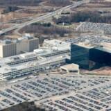 Fra mandag morgen har National Security Agency (NSA) fået stækket sine beføjelser, fordi et vigtigt lovgrundlag er faldet bort. Her ses NSAs hovedkvarter i Fort Meade i staten Maryland. Arkivfoto: Saul Loeb, AFP/Scanpix