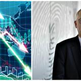 Kursen på aktierne i småinvestor-favoritten Fingerprint Cards har det sidste år været på en vild rutschebanetur. Trods tidligere enorme stigninger er det få, som står tilbage med en gevinst, mener ekspert.På billedet: Bestyrelsesformand Jan Wäreby.
