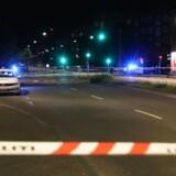 To ofre for skyderi på Nørrebro i København lørdag aften var tilfældige ofre. (Foto: Mathias Øgendal/Scanpix 2017)